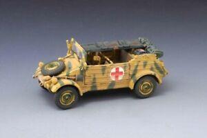 THOMAS GUNN WW2 SS023A Medical Kubelwagen Normandy Version MIB