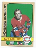 1972-73 Topps hockey card #79 Guy Lafleur, Montreal Canadiens EXMT++