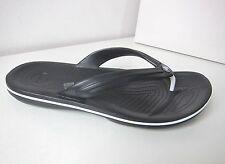Crocs Crocband flip negro M 5/W 7 37 38 thongs sandals Black tira dedo