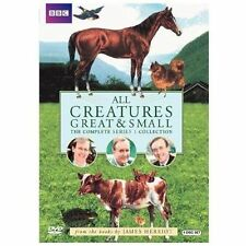 All Creatures Great and Small - Series One Set (DVD, 2010, 4-Disc Set) BRAND NEW