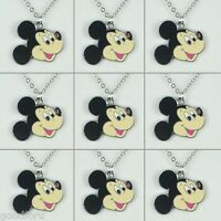 Lot 9pcs Disney Mickey Mouse Boys Girls Necklaces Birthday Party Favor Gifts BIN
