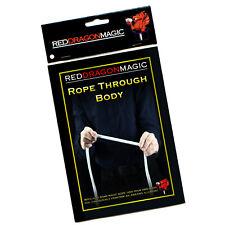 Rope Through Body - Simple Rope Magic Trick