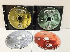 STAR WARS: KNIGHTS OF THE OLD REPUBLIC PC Game With 4 Discs