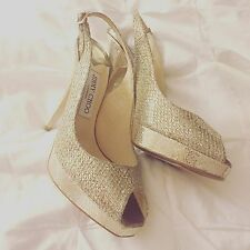 Jimmy Choo Lady Shoes, Size 6M, Clue' Glitter Slingback Pump (Nordstrom Exclus