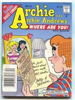 Archie Andrews Where Are You Digest Library 112 1997 FN Betty Veronica