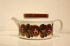 "Vintage, Retro, Arabia, ""ROSMARIN"" Teapot with infuser, design Ulla Procope"