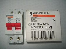 MERLIN GERIN SWITCH DISCONNECTOR TYPE MGI1252 2POLE 125A