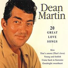 Dean Martin 20 great love songs [CD]