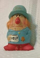 Vintage Lugenes Hobo Enesco Figurine Quote Gift Statue