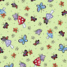 FABRIC Quilting Treasures ~ MARY'S FAIRIES ~ Mary Engelbreit (25892 H) 1/2 yard