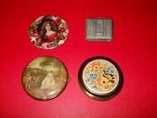 New listing Lot of 3 Vintage Compacts & 1 Pocket Mirror