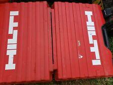 Hilti Case for Sfh 144-A cordless drill driver kit.