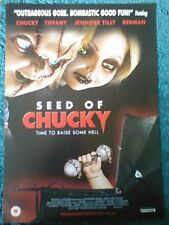 Semilla de Chucky (Jennifer Tilly, Brad Dourif, John Waters) 2004 A2 Movie Poster