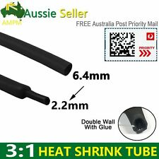 Dual Wall Heat Shrink Tubing Sleeving 3:1 Glue Line USB Cable Protect Insulation