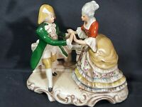 GDR Grafenthal German Porcelain Figure Couple Dancing Collectible
