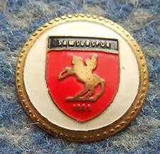 SAMSUNSPOR KULUBU TURKEY FOOTBALL FUSSBALL SOCCER 1980's PIN BADGE
