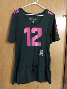 WOMEN'S NFL BREAST CANCER AWARENESS GREEN BAY PACKERS AARON RODGERS JERSEY small