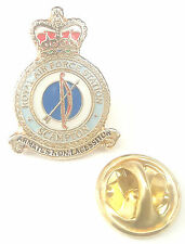 RAF Scampton Crest Enamel Lapel Pin Badge