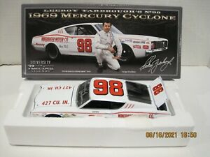 LEEROY YARBROUGH 1969 #98 WINEBARGER MOTOR CO AUTOGRAPHED BY JUNIOR JOHNSON 1/24