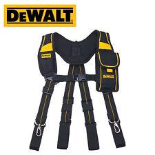 [Dewalt] Suspenders  Pro Work Tool Belt Mobile Pouch / DWST80915-8
