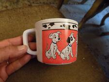Euc 101 Dalmatians Zak Designs Disney Melamine Plastic Child's Cup Mug Vtg Htf