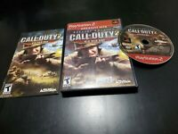 Call of Duty 2: Big Red One Greatest Hits (Sony PlayStation 2, 2006) CIB! TESTED