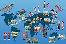 FRIDGE MAGNET COLLECTION OF 16 UNESCO WORLD HERITAGE SITES