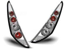 CHROME REAR TAIL LIGHTS LTFI06 FIAT PUNTO HATCHBACK 3D 1999 2000 2001 2002 2003