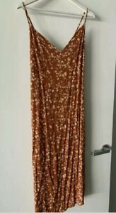 Cotton On floral maxi dress,  size S