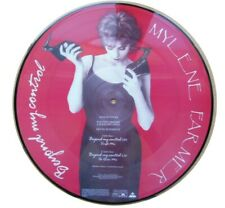 LIMITED EDITION MYLENE FARMER BEYOND MY CONTROL PICTURE DISC MAXI 45 TOURS