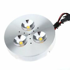 Aluminum 3 LED AC 90-240V 3W Under Cabinet Light Lamp with Driver for Closet HY