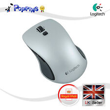 Logitech Wireless Laser USB Nano Mouse M560 Silver (Not In Box) Bulk Version