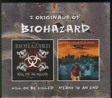 BIOHAZARD 2 Originals Kill Or Be Killed & Means To An End DOUBLE CD SEALED