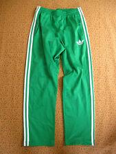 Pantalon Adidas Original Sport Vert Homme Survetement Pants Vintage - S