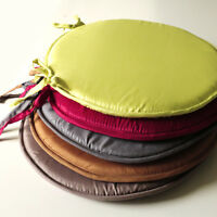 """Circular/Round Bistro Tie-on Kitchen/Dining/Patio Chair Seat Pad Cushions 15"""""""