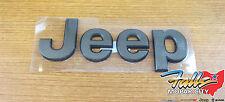 2014-2018 Jeep Grand Cherokee Front Hood Bronze Jeep Emblem Nameplate OEM