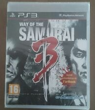 WAY OF THE SAMURAI 3 Jeu Sur Sony PS3 Playstation 3 Neuf Sous Blister VF