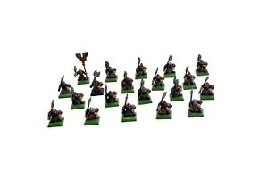 DWARFS 20 Dwarf Warriors with Axes #2 Warhammer Fantasy