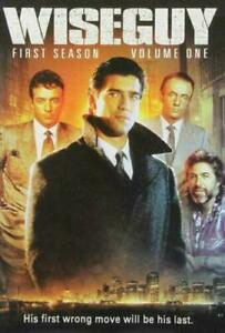 WISEGUY - FIRST SEASON - VOLUME ONE DVD - 1988 - ALMOST 8 HOURS ~ Region 1 USA