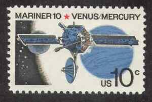 US. Mariner 10, Venus & Mercury, Space Issue. MNH. 1975