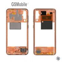 Carcasa Chasis Marco Middle Cover Coral Samsung Galaxy A50 2019 A505 Original
