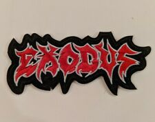 Exodus Embroidered Iron-on Thrash Metal Band Patch