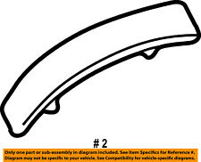FORD OEM 02-07 F-350 Super Duty Exterior-Cab-Roof Molding Right 1C3Z2851728AAPTM