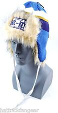 GONGSHOW HOCKEY BENCHWARMER TRAPPER STYLE KNIT HOCKEY HAT/CAP - ST. LOUIS BLUES