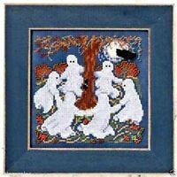 "Mill Hill Buttons Beads Cross Stitch Kit 5"" x 5"" ~ GHOST DANCE Sale #14-0206"