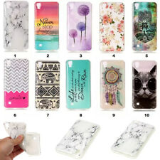 """Ultra Thin Patterned Rubber Gel Soft TPU Silicone Case Cover for LG X Power 5.3"""""""