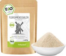BIO Flohsamenschalen - gemahlen - 99% Reinheit - bioKontor - 1000g