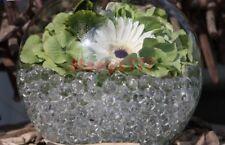 *6 sachet bille de gel*perle d'eau transparente* décoration vase mariage baptême
