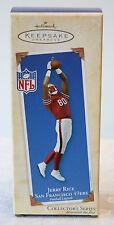 Hallmark Ornament Jerry Rice 9th in Football Legends Series 2003 NFL 49ers HOF