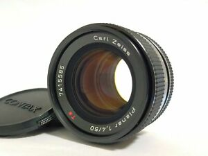 [Top MINT] Contax Carl Zeiss Planar T 50mm F/1.4 Lens CY Mount MMJ From JAPAN